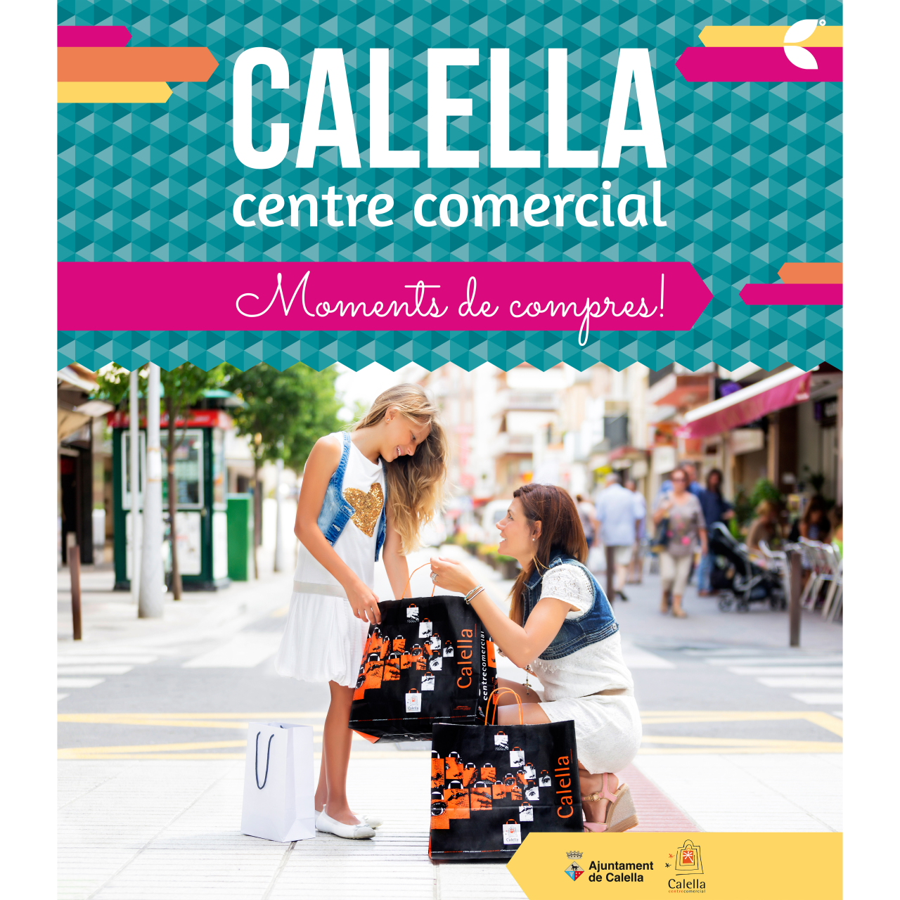 Campaña «Calella, moments de compres!»