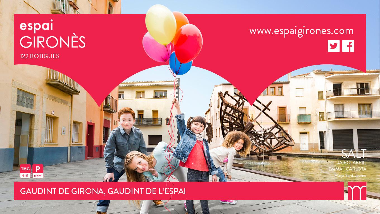 Centre Comercial Espai Gironès. Campaña «Gaudint de Girona, Gaudint de l'Espai»